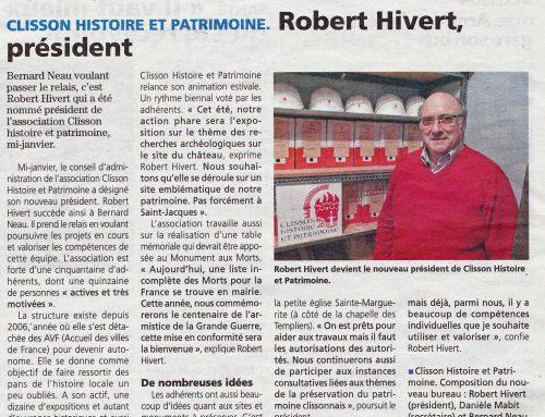 Robert Hiver Président