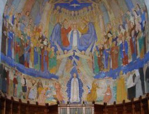 Fresque de Notre-Dame